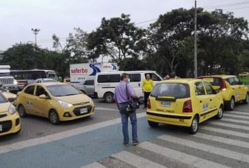 Plan Tortuga: taxistas protestan a esta hora por diez puntos de Cali