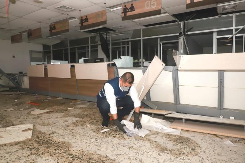 Funcionarios públicos salieron a recuperar espacios públicos en Cali