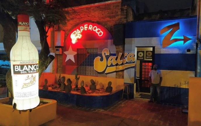 La tradicional salsoteca 'Zaperoco Bar' cerró sus puertas tras 27 años de funcionamiento