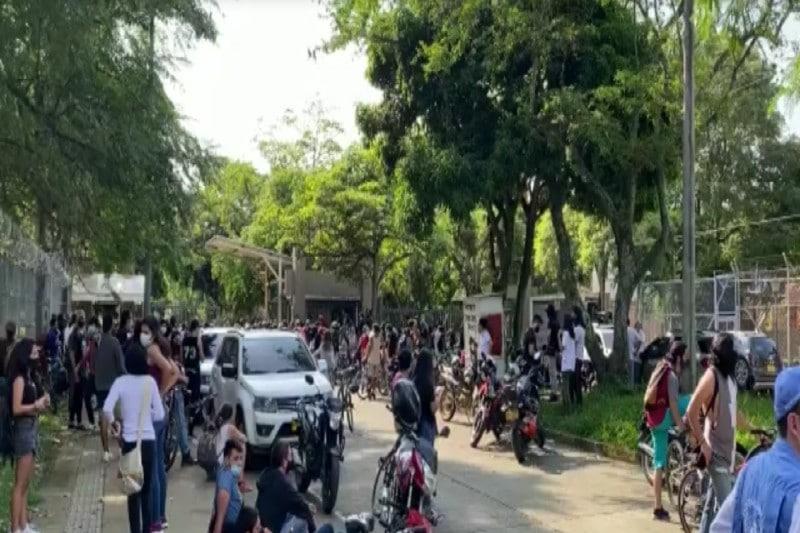 Estudiantes desalojaron de forma pacífica la sede Meléndez de Univalle