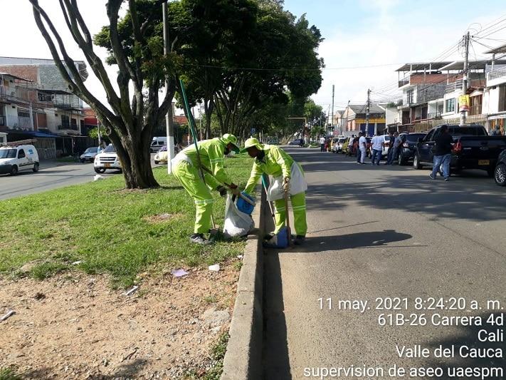 Alcaldía pide a ciudadanos evitar sacar basuras a la vía pública