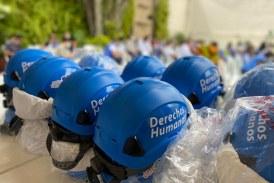 Alcaldía amplió personal de Derechos Humanos y tendrán cascos azules