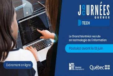 Convocatoria para profesionales de TIC en Montreal, Canadá