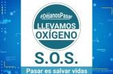 Empezó a llegar oxígeno y medicamentos a los municipios del Valle
