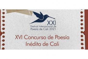 Abierta la convocatoria del 'XVI Concurso de Poesía Inédita de Cali'