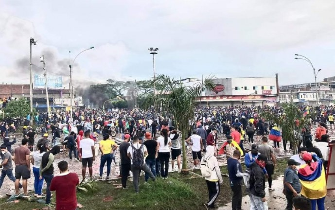 Más de 370 personas han desaparecido en medio de protestas en Colombia