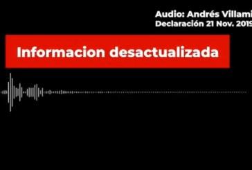 Alcaldía desmiente audio que dice que toque de queda inicia a las 7:00 p.m.