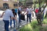 Alcaldía realiza jornadas de limpieza con ciudadanos tras las manifestaciones