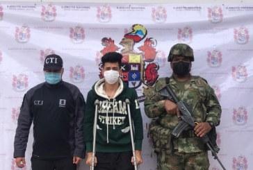 Cae alias Otoniel, presunto integrante de las disidencias en el Cauca