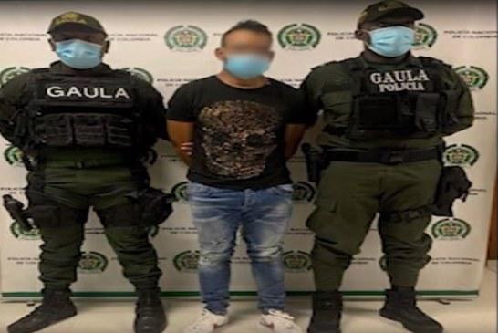 Capturado alias Jacobo, cabecilla del grupo criminal Dagoberto Ramos