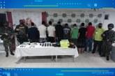 Capturados 8 presuntos miembros de la banda 'Villa Obando'