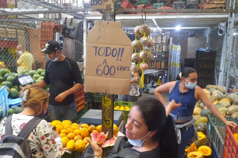 Corredores humanitarios permitieron mover 200 toneladas de alimentos