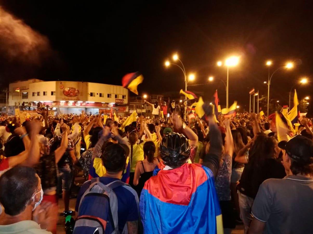 Defensoría del Pueblo reporta 87 desaparecidos en medio de protestas