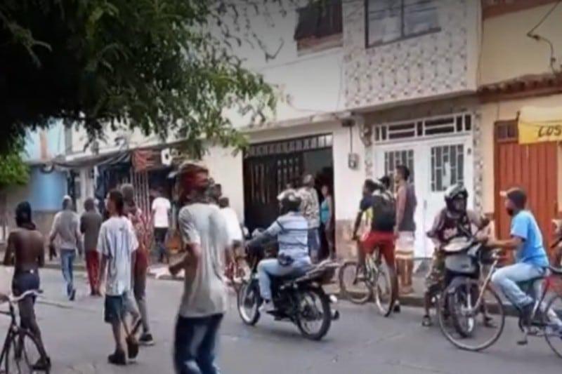 Delicada situación de orden público en Cartago, daños al hospital San Juan de Dios