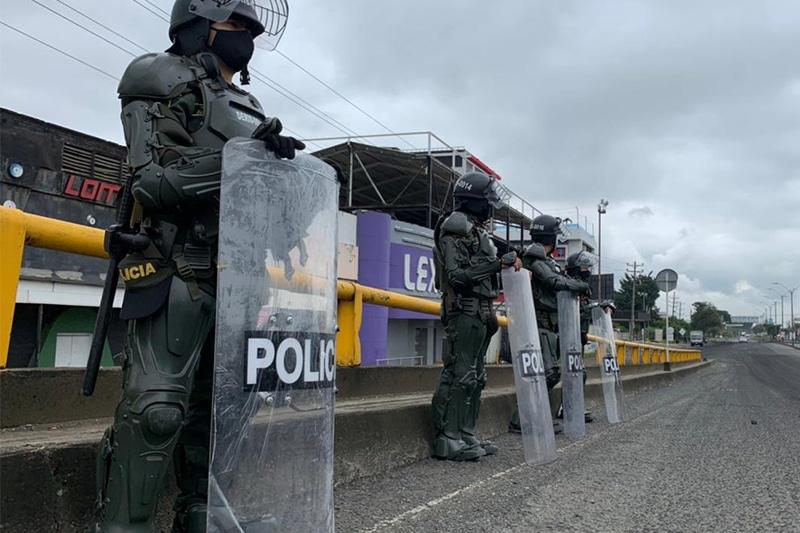 Durante el Paro Nacional hubo 520 civiles y 178 policías heridos en Cali