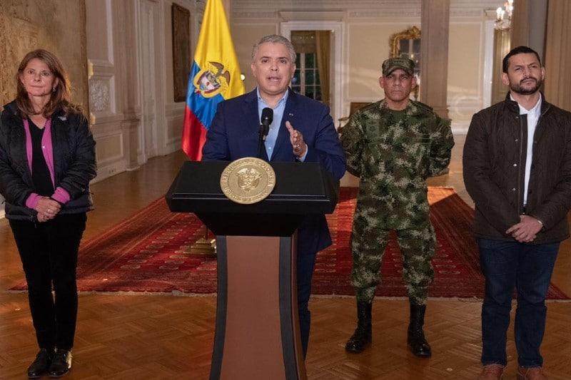 """""""La figura de asistencia militar seguirá vigente"""": Presidente Iván Duque"""