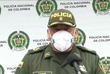Fue un intento de liberar a las personas capturadas: Policía sobre los hechos en Yumbo