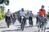 Jornada dominical en bicicleta invita a la reconciliación