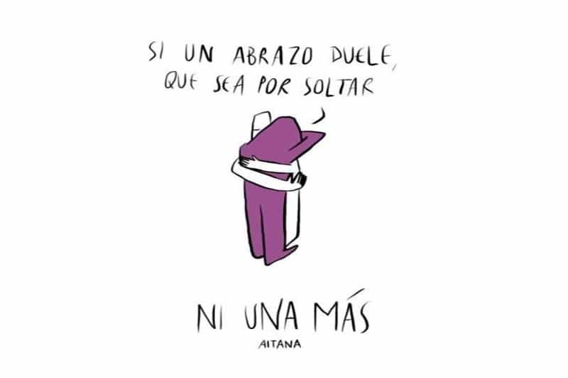 La cantante y compositora Aitana presenta su nuevo sencillo 'Ni una más'