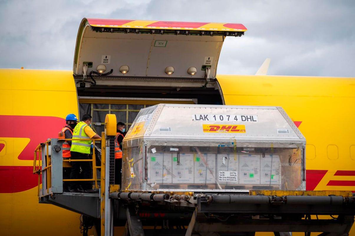 Llegaron a Colombia 546.390 vacunas de Pfizer, adquiridas por mecanismo Covax