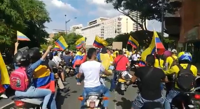 """""""En su mayoría fueron manifestaciones pacíficas"""": director de la Policía Nacional"""