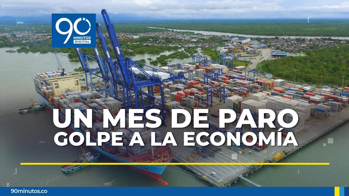 Un mes de bloqueos por las protestas, otro golpe a la economía colombiana