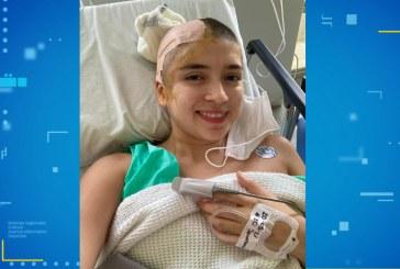 La joven Paula Ágredo se recupera tras exitosa cirugía