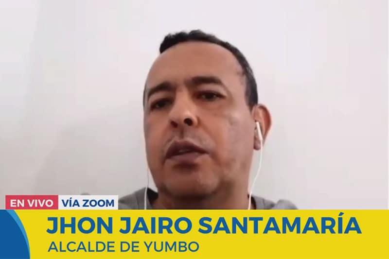 """""""Nunca di la orden al Esmad de desbloquear las vías"""": Alcalde de Yumbo"""
