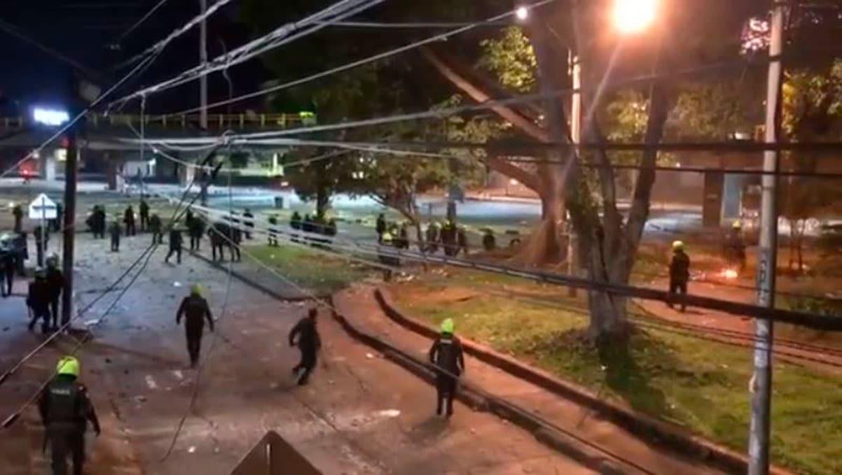 La ONU denunció que la Policía abrió fuego contra los manifestantes en Cali