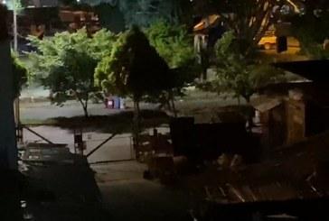 Policía reportó fuertes hostigamientos a su estación de El Lido en la noche pasada