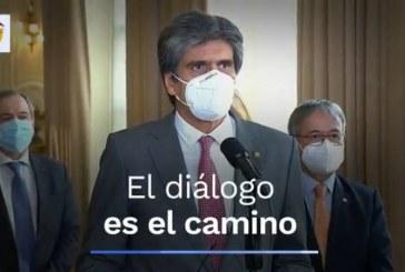Reunión entre Presidencia y Altas Cortes concluye la necesidad de diálogo