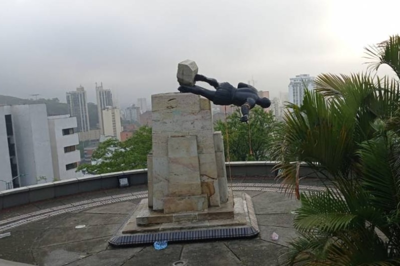 Concejales piden que estatua de Sebastián de Belalcázar se reinstale por cumpleaños de Cali
