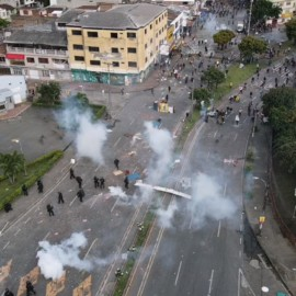 Informe dice que Fuerza Pública dio tratamiento de guerra al Paro Nacional