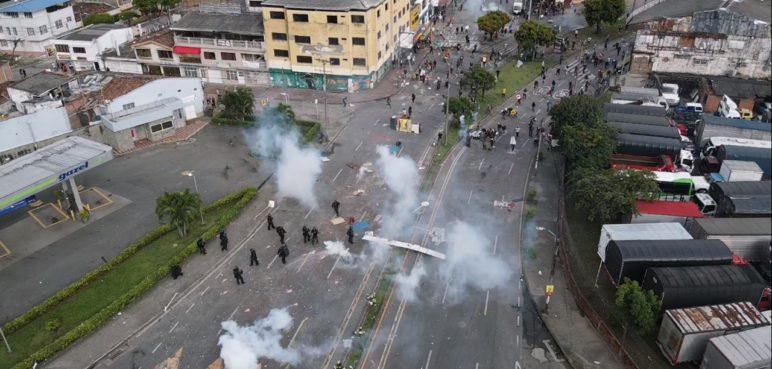 Reportan 228 investigaciones contra policías en el marco del Paro Nacional