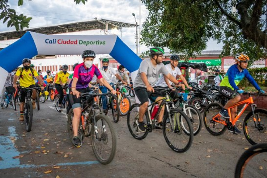 """Los caleños celebraron """"sobre ruedas"""" el 'Día Mundial de la Bicicleta'"""