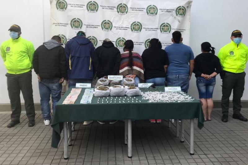 Caen presuntos integrantes de 'La Tribu' por venta de estupefacientes en varias comunas de Cali