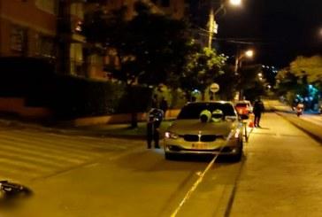 Motociclista murió tras ser arrollado por un BMW en el sur de Cali