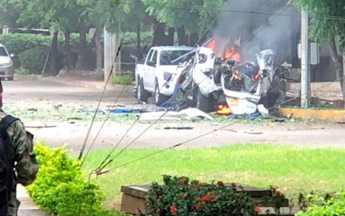 ELN niega ser autora de atentado contra base militar en Cúcuta