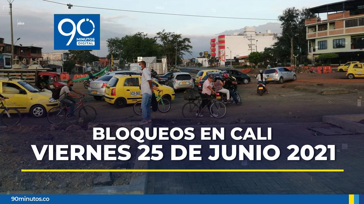 Persisten bloqueos en Puerto Rellena y Calipso: movilidad para este viernes