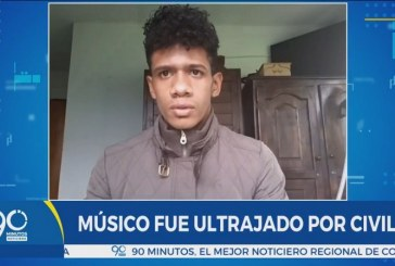 Video muestra que civiles golpearon y entregaron a Álvaro Herrera a la Policía