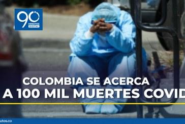 Colombia quedó al borde de los 100.000 fallecimientos por coronavirus