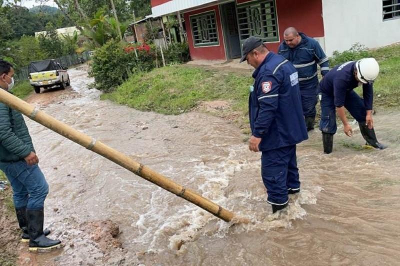 Continúan las afectaciones por las lluvias en el departamento del Valle