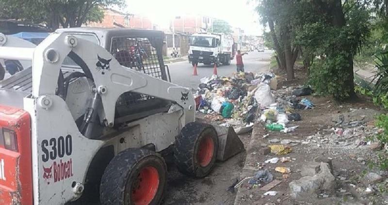 Empresas de aseo continúan con recolección de basuras en el oriente de Cali