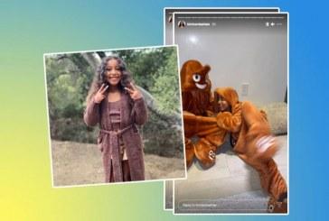 Kim Kardashian celebró el cumpleaños de su hija con una fiesta temática de popó