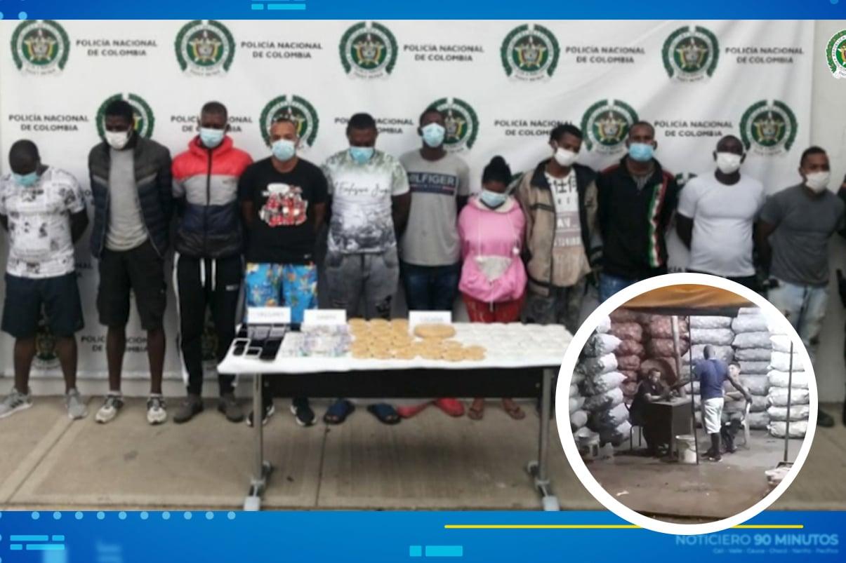 'Los Vigilantes' extorsionaban comerciantes de Santa Elena para dejarlos trabajar