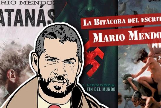 La Bitácora del escritor Mario Mendoza
