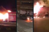 Noche de disturbios y quema de vehículos en la noche de este viernes