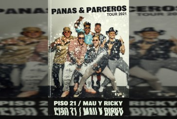 'Panas y Parceros': la nueva gira de Piso 21 y Mau y Ricky