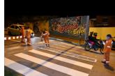 Secretaría de Movilidad demarcó más de 700 metros cuadrados en la Avenida de los Cerros