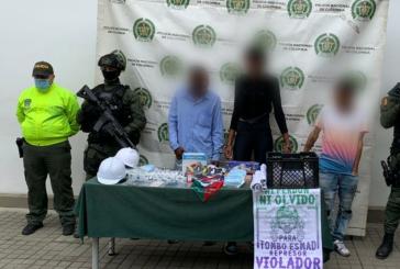 Capturan a los presuntos responsables del crimen de policía en Paso del Comercio
